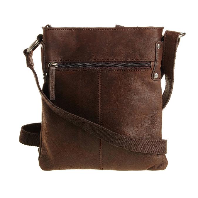 Kožená Crossbody taška bata, hnedá, 964-4113 - 26
