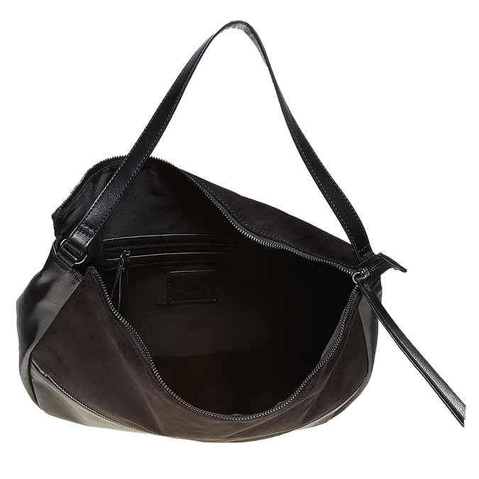 Dámska čierna kabelka bata, čierna, 969-6460 - 15