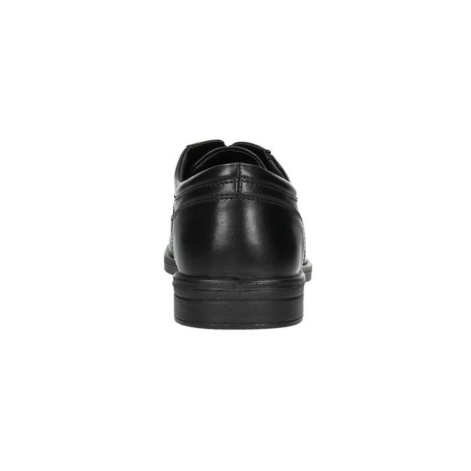 Pánske kožené poltopánky bata, čierna, 824-6744 - 17
