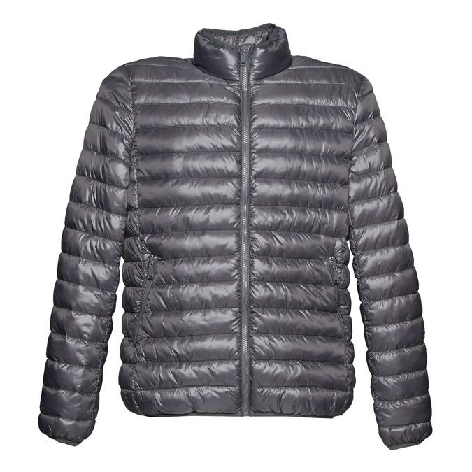 Pánska bunda s prešívaním bata, šedá, 979-2613 - 13