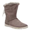 Dámske zimné topánky s kožúškom weinbrenner, hnedá, 596-4334 - 13