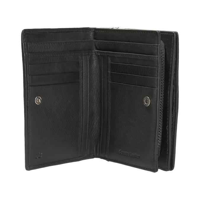 Kožená dámska peňaženka bata, čierna, 944-6163 - 15
