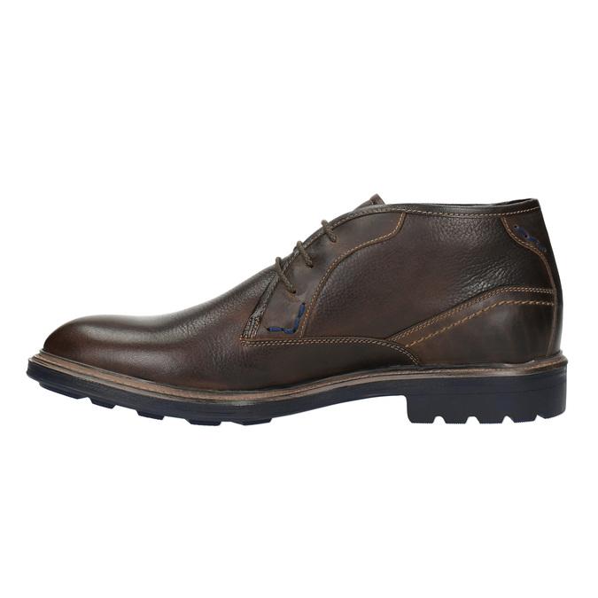 Kožené Chukka Boots bata, hnedá, 824-4701 - 26