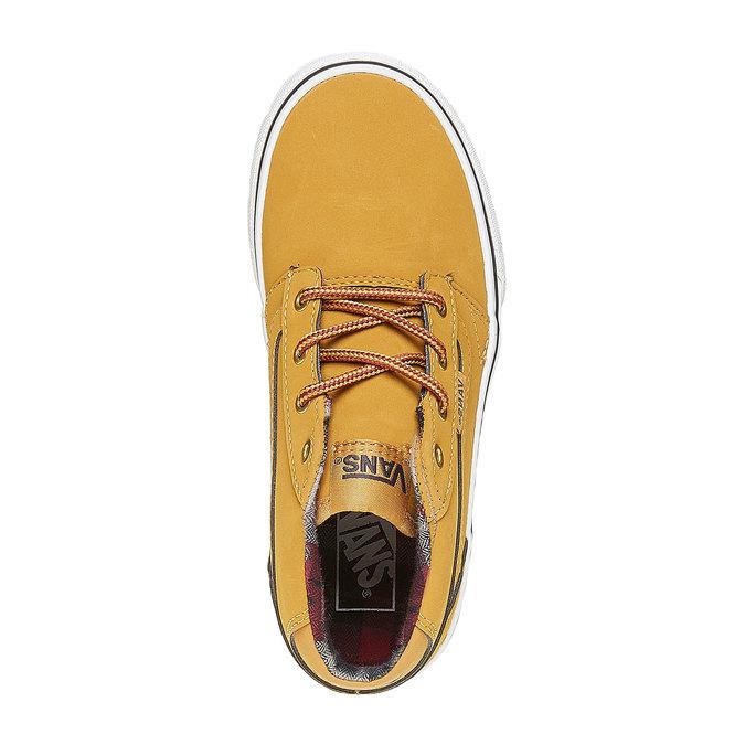 Detské tenisky Vans vans, žltá, 401-8235 - 19