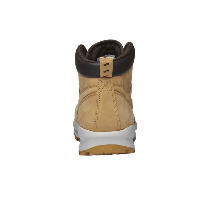 Kožená pánska členková obuv nike, hnedá, 806-8435 - 16