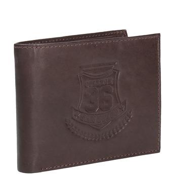 Pánska kožená peňaženka bata, hnedá, 944-4171 - 13