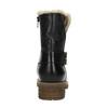 Dámska obuv s kožúškom bata, čierna, 594-6609 - 17