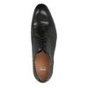 Čierne kožené poltopánky bata, čierna, 824-6769 - 19