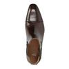 Pánska kožená členková obuv bata, hnedá, 896-4655 - 19