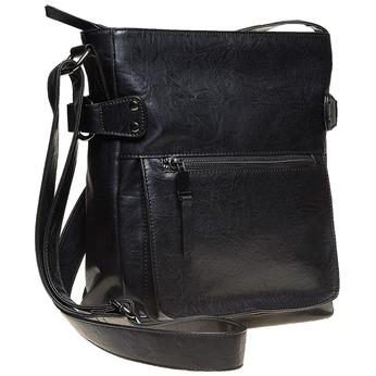 Pánska Crossbody taška bata, čierna, 961-6266 - 13