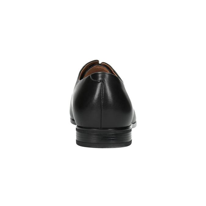 Čierne kožené poltopánky bata, čierna, 824-6769 - 17
