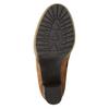 Členkové čižmy s kožušinovým lemom manas, hnedá, 793-3604 - 26