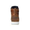 Kožená členková obuv na ležérnej podrážke bata, hnedá, 894-3660 - 17