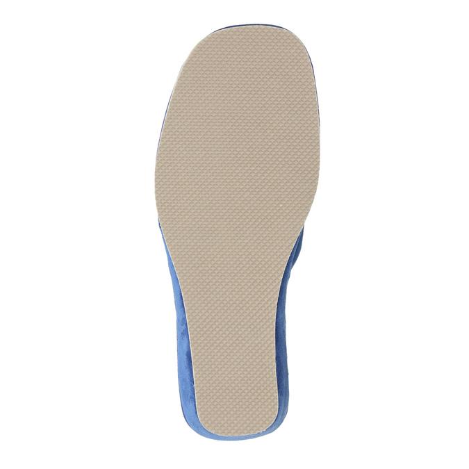 Dámska domáca obuv bata, modrá, 679-9606 - 26
