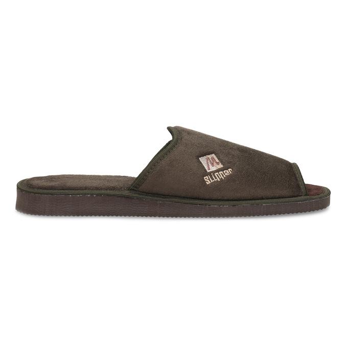 Pánska domáca obuv bata, hnedá, 879-4606 - 19