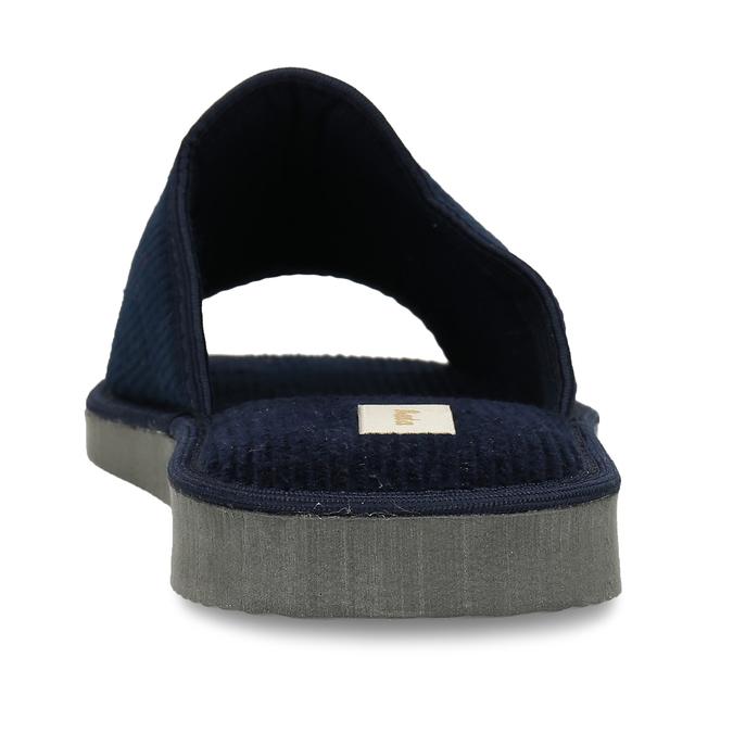 Pánska domáca obuv bata, modrá, 879-9609 - 15
