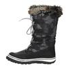 Dámske snehule s kožúškom bata, čierna, 599-6609 - 19
