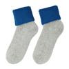 Dámske termo ponožky matex, modrá, šedá, 919-9381 - 26