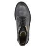 Dámska kožená členková obuv weinbrenner, šedá, 596-6632 - 19