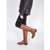 Dámske kožené čižmy bata, hnedá, 594-3586 - 18