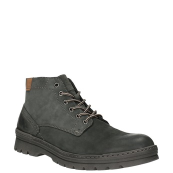 Kožená pánska členková obuv weinbrenner, šedá, 896-2107 - 13
