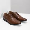 Pánske kožené poltopánky hnedé bata, hnedá, 826-3758 - 26