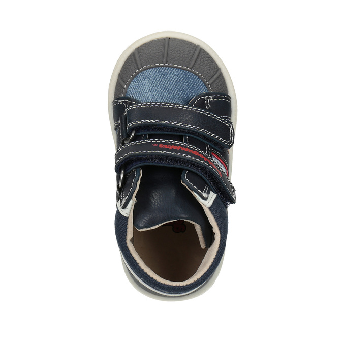 Ćlenková detská obuv bubblegummers, modrá, 111-9613 - 19