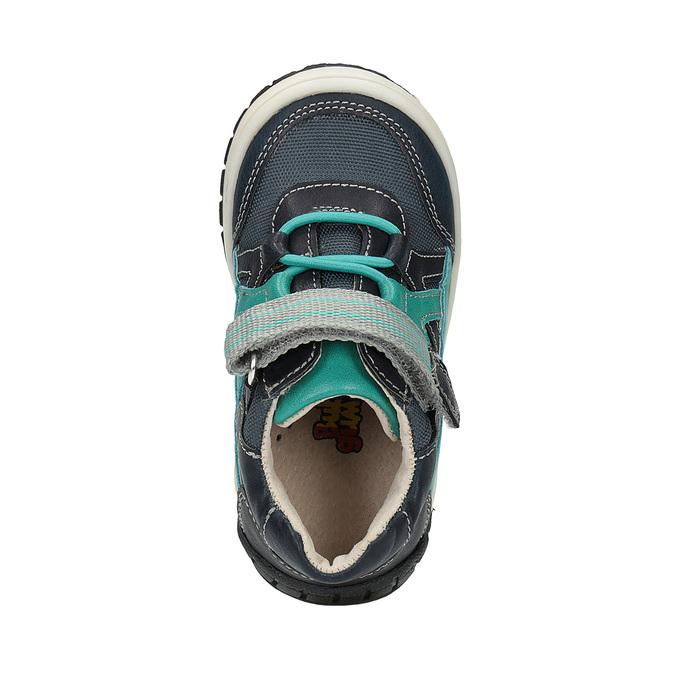 Modrá chlapčenská obuv bubblegummers, modrá, 111-9615 - 19