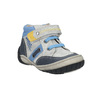 Detská členková obuv so suchým zipsom bubblegummers, šedá, 111-2616 - 13