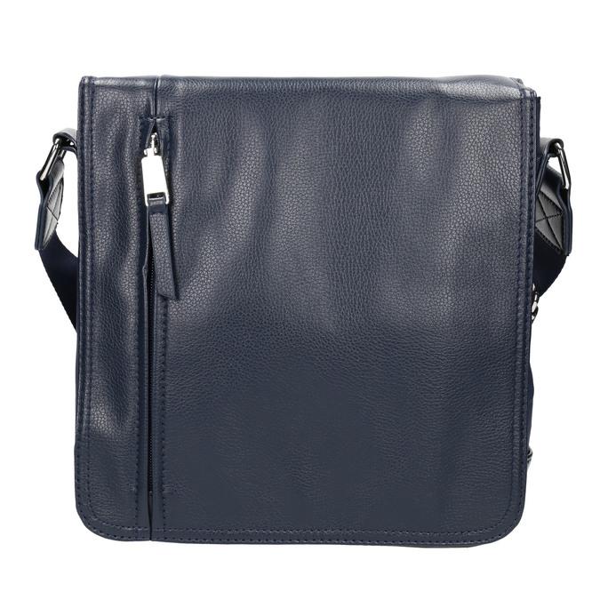 Pánska taška v štýle Crossbody bata, modrá, 961-9508 - 26