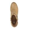 Jarné členkové čižmy s perforáciou bata, hnedá, 691-4632 - 19