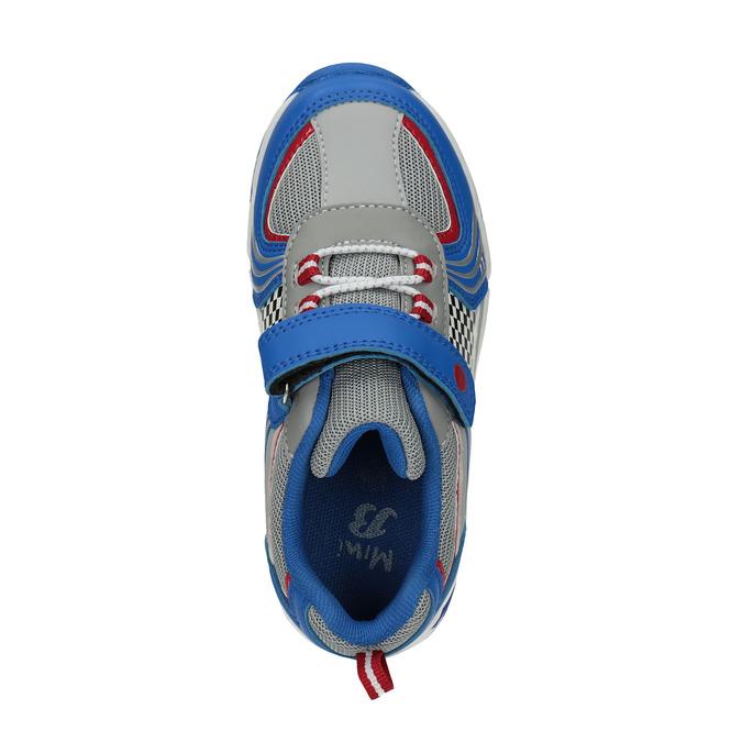 Detské športové tenisky mini-b, modrá, 211-9172 - 19