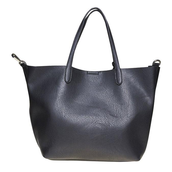 Dámska kabelka s perforáciou bata, čierna, 961-6274 - 26