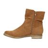 Hnedé členkové čižmy bata, hnedá, 599-4614 - 26