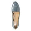 Kožená dámska obuv v štýle Loafers bata, modrá, 518-9600 - 19