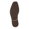 Kožené členkové tenisky so zipsom bata, hnedá, 894-3684 - 26