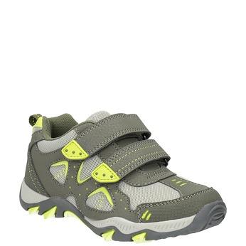 Športové detské tenisky mini-b, zelená, 411-7605 - 13