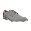 Ležérne kožené poltopánky šedé bata, šedá, 823-2600 - 13