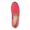 Kožená obuv s perforáciou bata-light, ružová, 516-5601 - 19