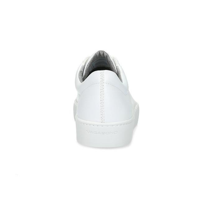 Biele kožené tenisky dámske vagabond, biela, 624-1019 - 15