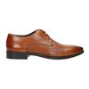 Hnedé kožené Derby poltopánky bata, hnedá, 826-3804 - 15