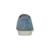 Modré kožené poltopánky bata, modrá, 523-9600 - 17