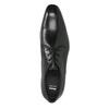 Pánske celokožené poltopánky bata, čierna, 824-6836 - 19