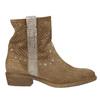 Kožené členkové čižmy bata, hnedá, 596-4653 - 15