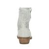 Kožené členkové čižmy bata, šedá, 596-2653 - 17