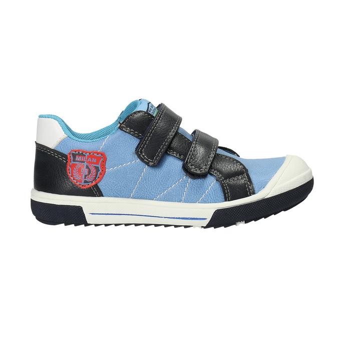 Detská obuv na suchý zips mini-b, modrá, 211-9607 - 15