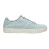 Kožené dámske tenisky bata, modrá, 523-9601 - 15