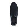 Pánska kožená Slip-on obuv bata, modrá, 833-9600 - 19