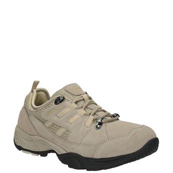 Dámske kožené Outdoor topánky power, hnedá, 503-3118 - 13