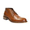 Celokožená členková obuv bata, hnedá, 826-3909 - 13
